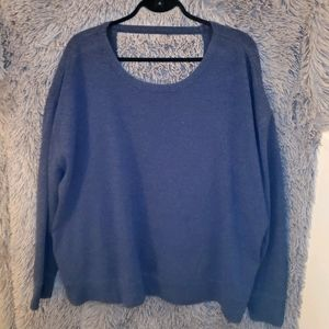 Athletic Works Sweater Open Back